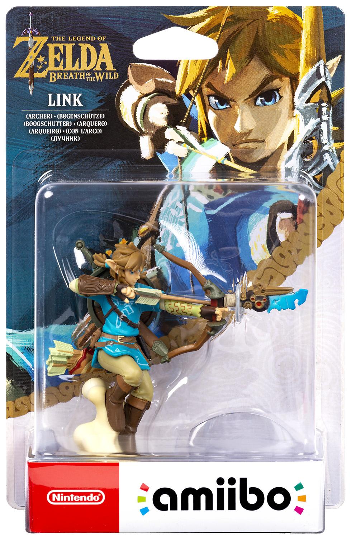 amiibo - The Legend of Zelda: Breath of the Wild - Link Bogenschütze