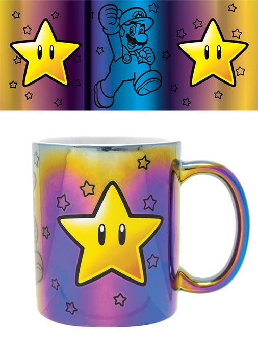 Metallic Tasse - Super Mario - Star Power