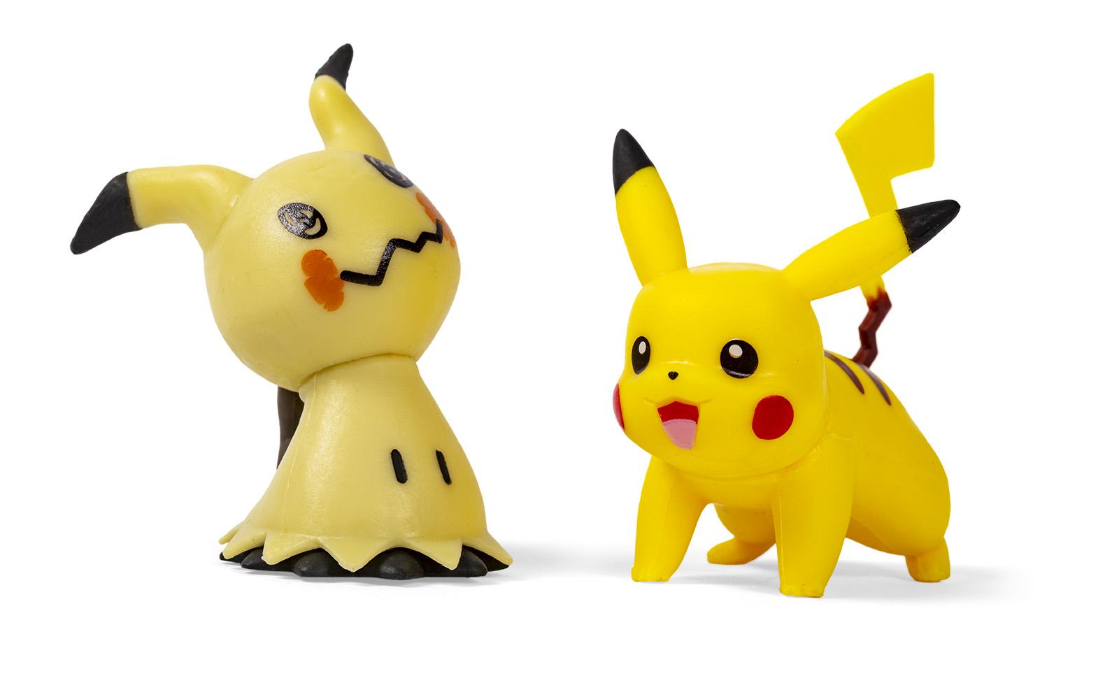 Pokémon - Battle Figure Pack - Mimigma & Pikachu