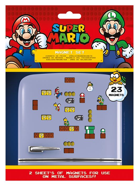 Super Mario Magnet Set