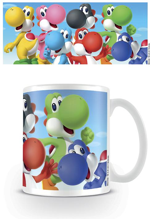 Tasse - Super Mario - Yoshis