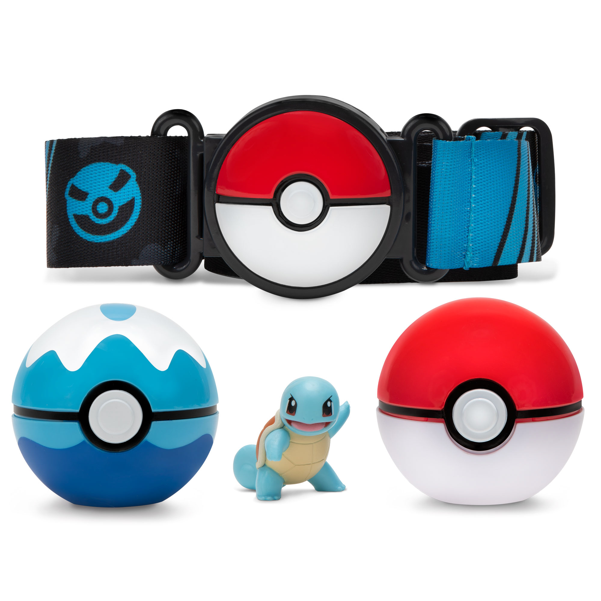 Pokémon - Clip´n Go Gürtelset - Schiggy