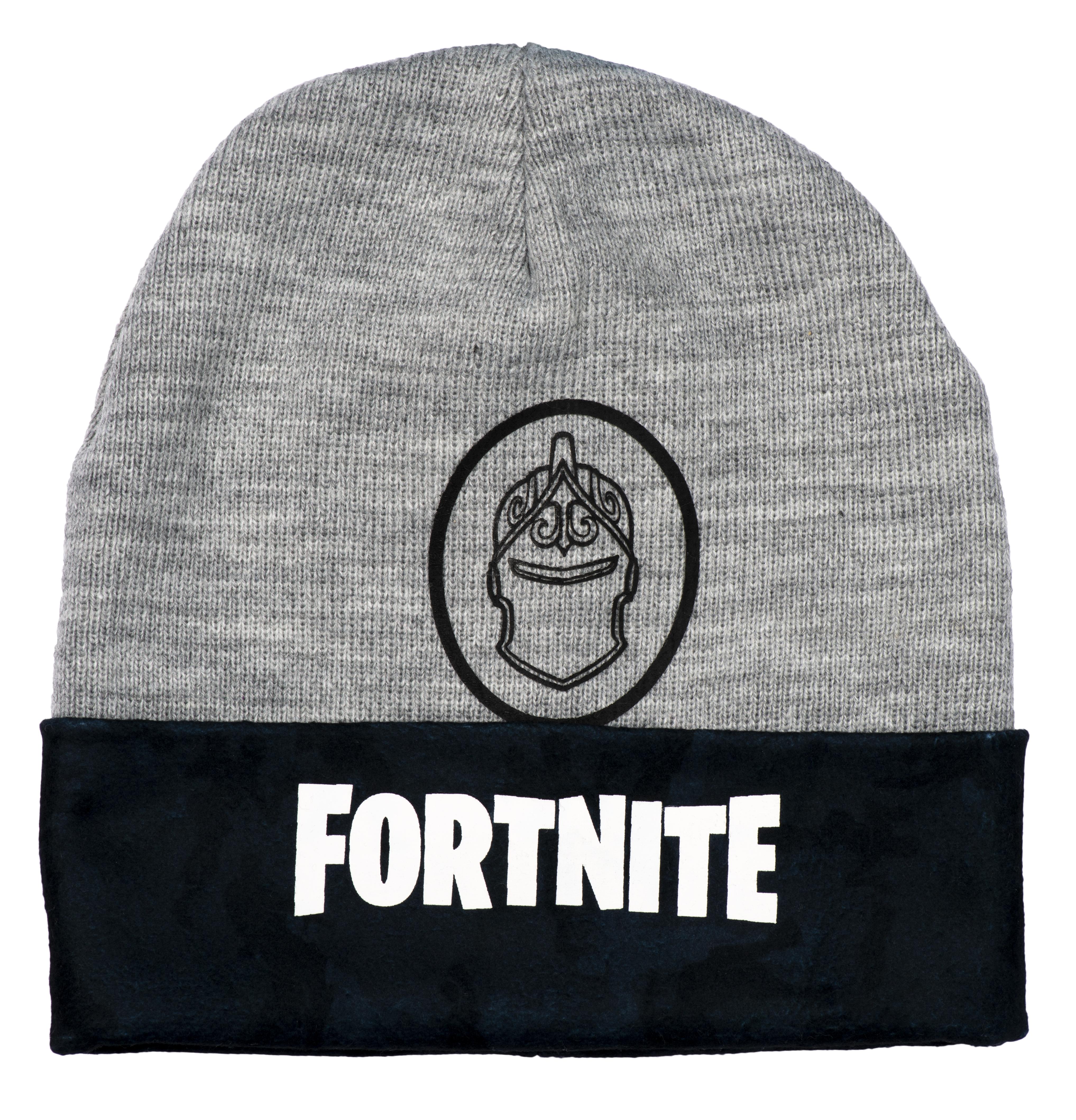 Fortnite Mütze dunkel grau