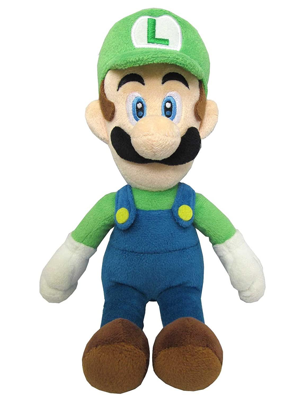 Super Mario -  Luigi - Plüsch Figur 20 cm