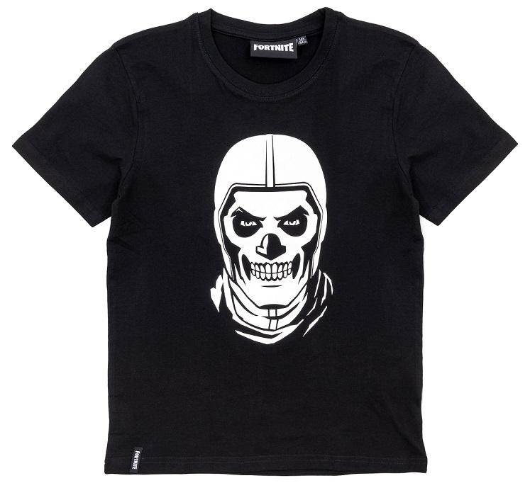 Fortnite T-Shirt SkullTrooper schwarz Größe 152