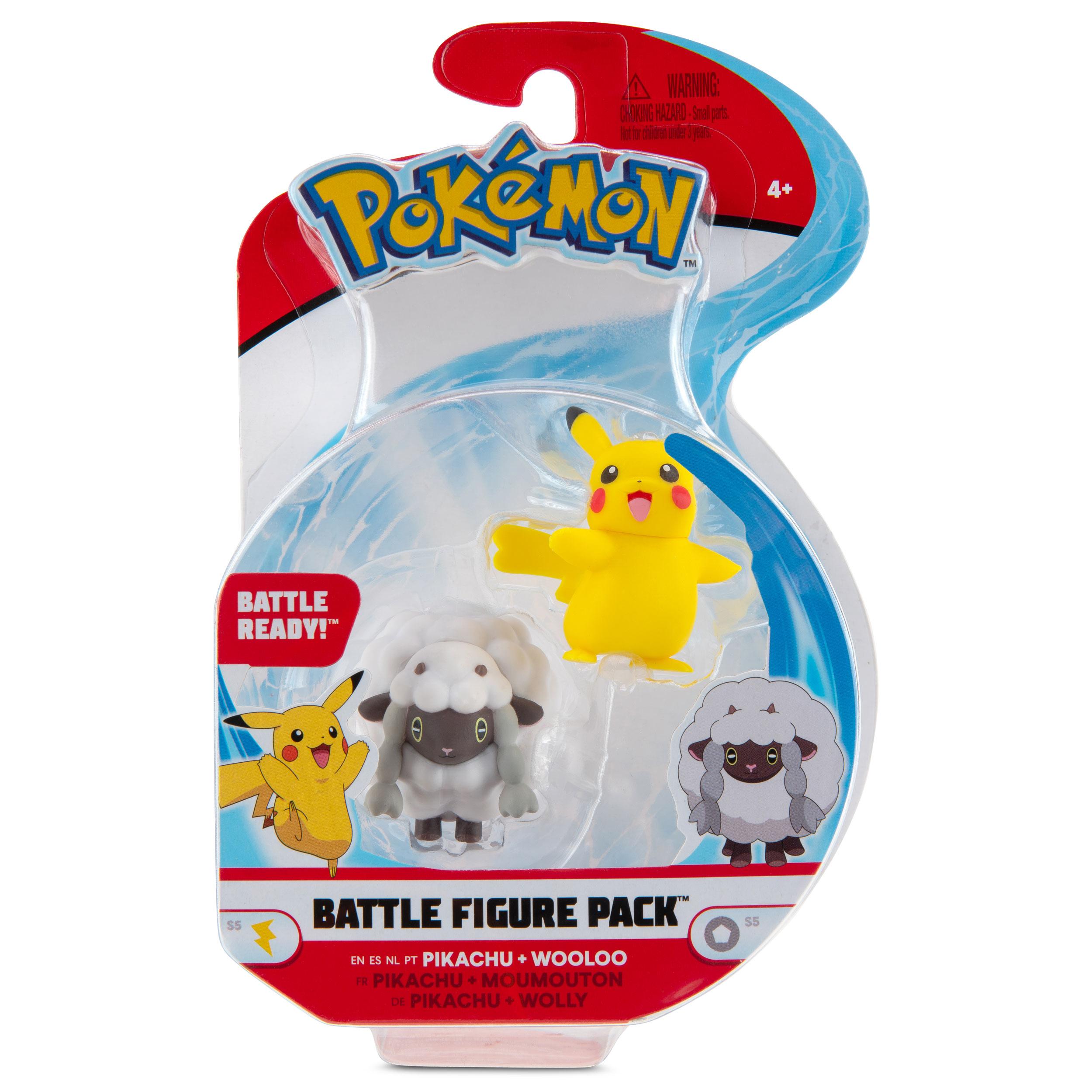 Pokémon - Battle Figure Pack - Pikachu & Wolly