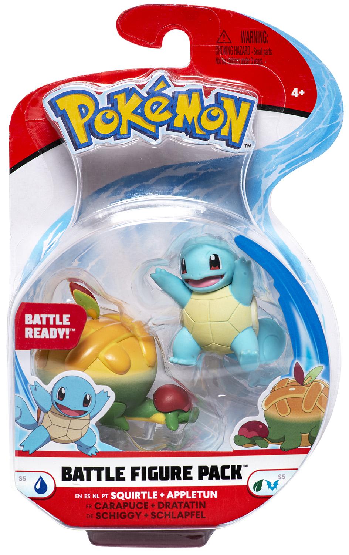 Pokémon - Battle Figure Pack - Schiggy & Schlapfel