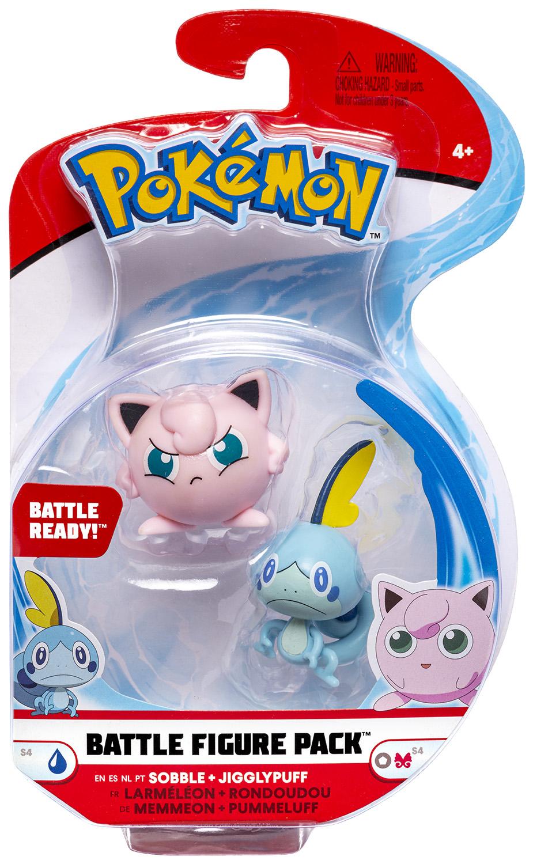 Pokémon - Battle Figure Pack - Pummeluff & Memmeon