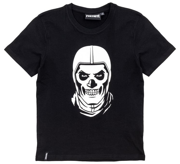 Fortnite T-Shirt SkullTrooper schwarz Größe 164
