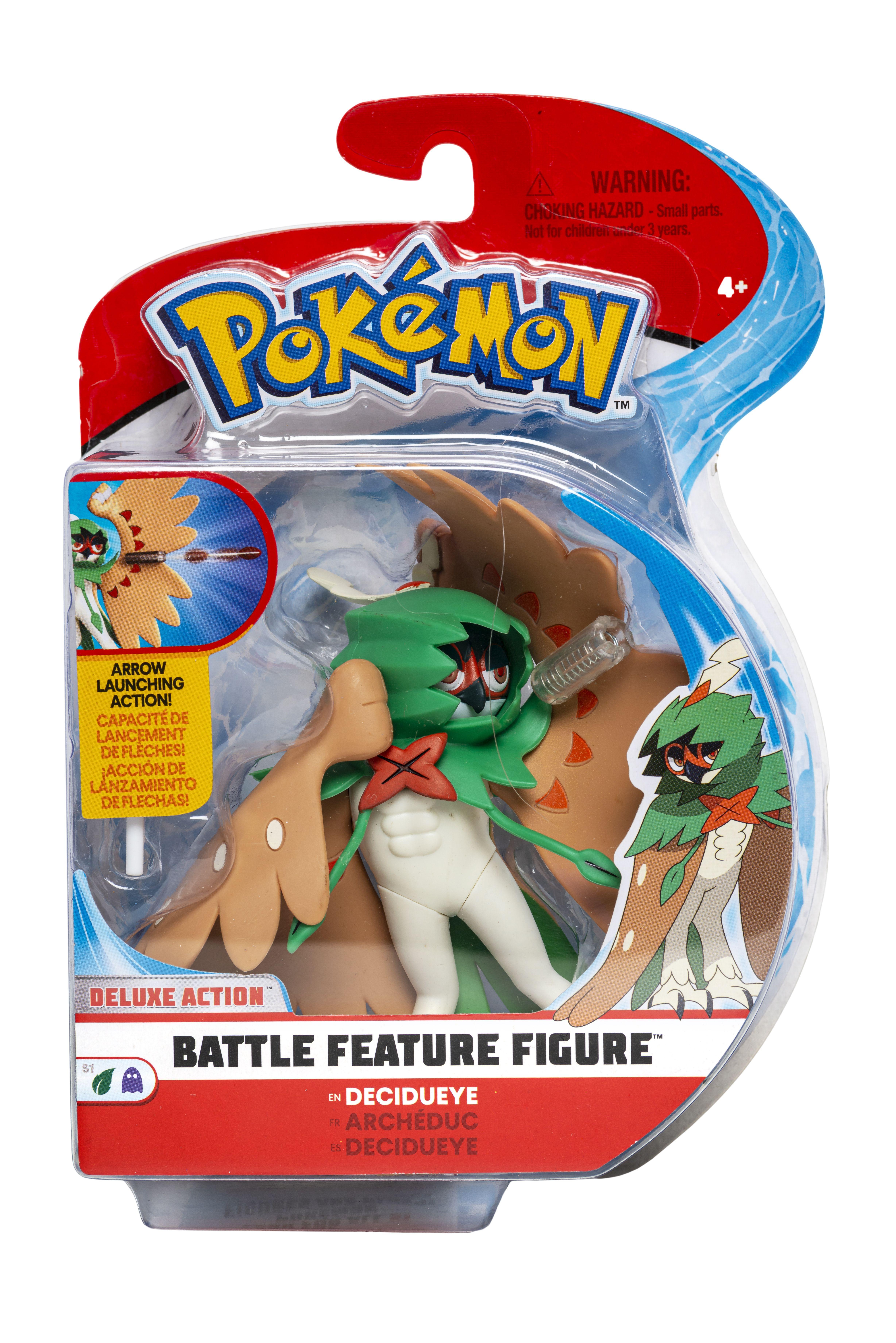 Pokémon - Battle Feature Figur - Decidueye