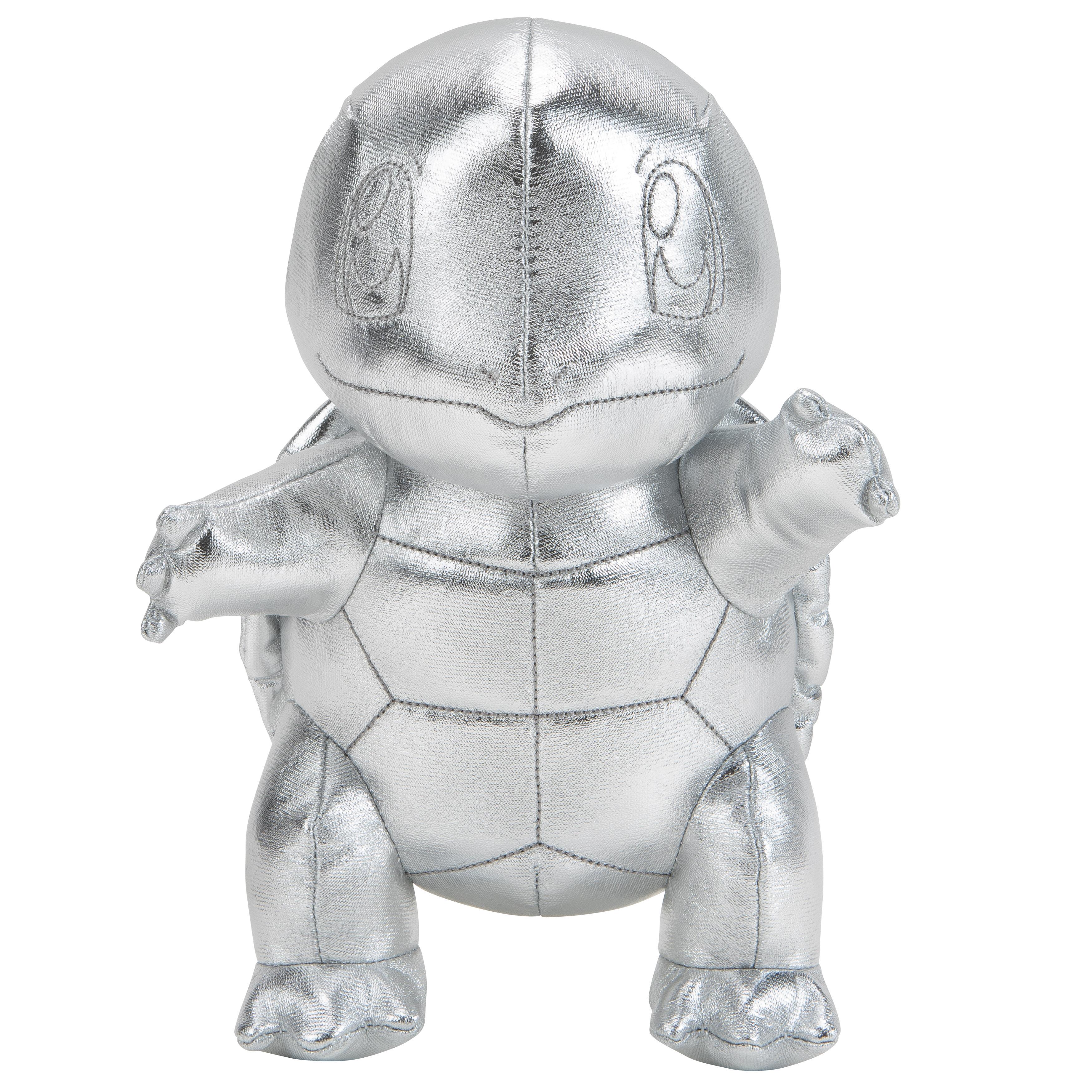 Pokémon - Schiggy Silber Plüsch 20 cm