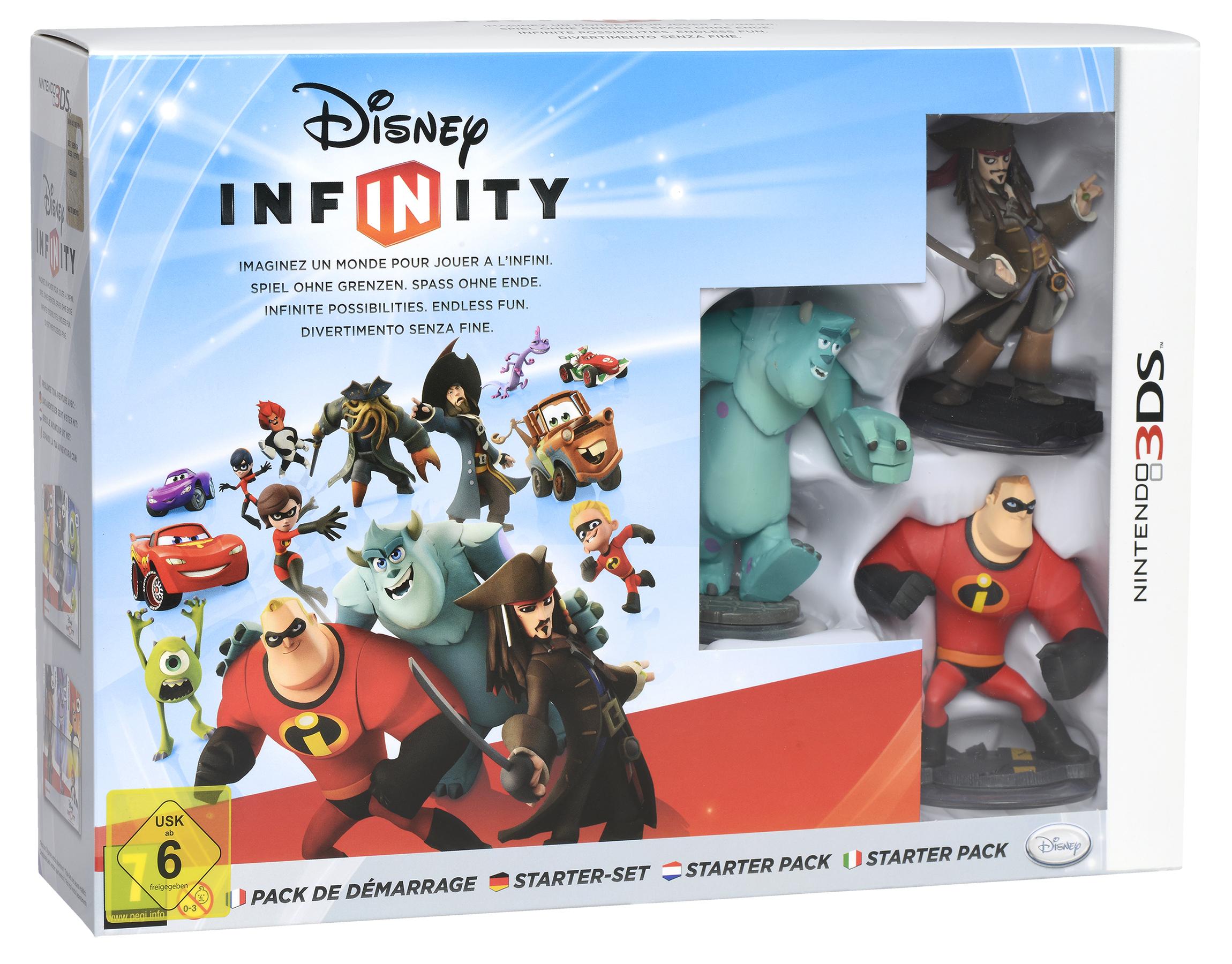 Disney Infinity Starter Set Nintendo 3DS