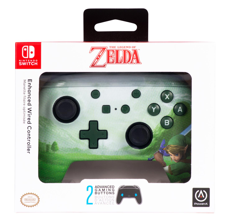 Nintendo Switch Link Hyrule Controller kabelgebunden