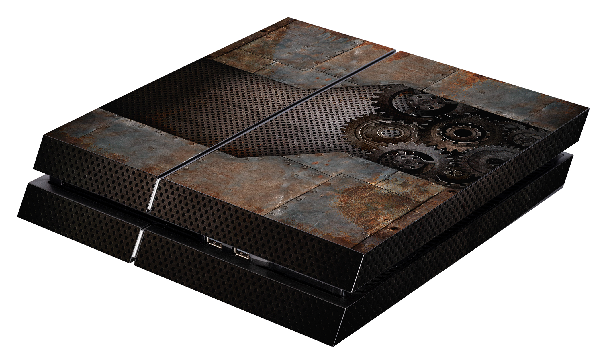 Skins - Sticker für PlayStation 4 Konsole (Rusty Metal)