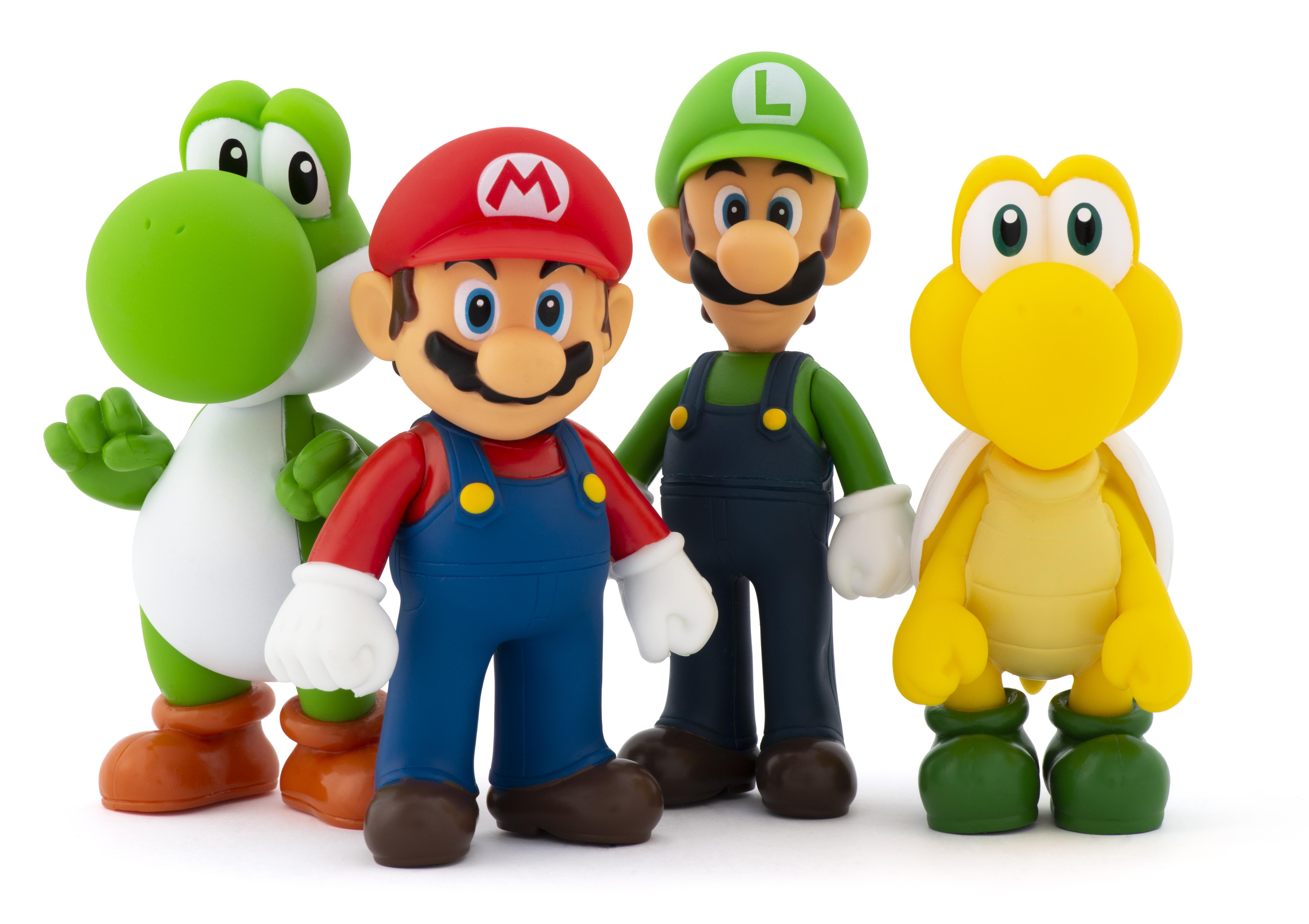 Super Mario Figuren 4er Pack
