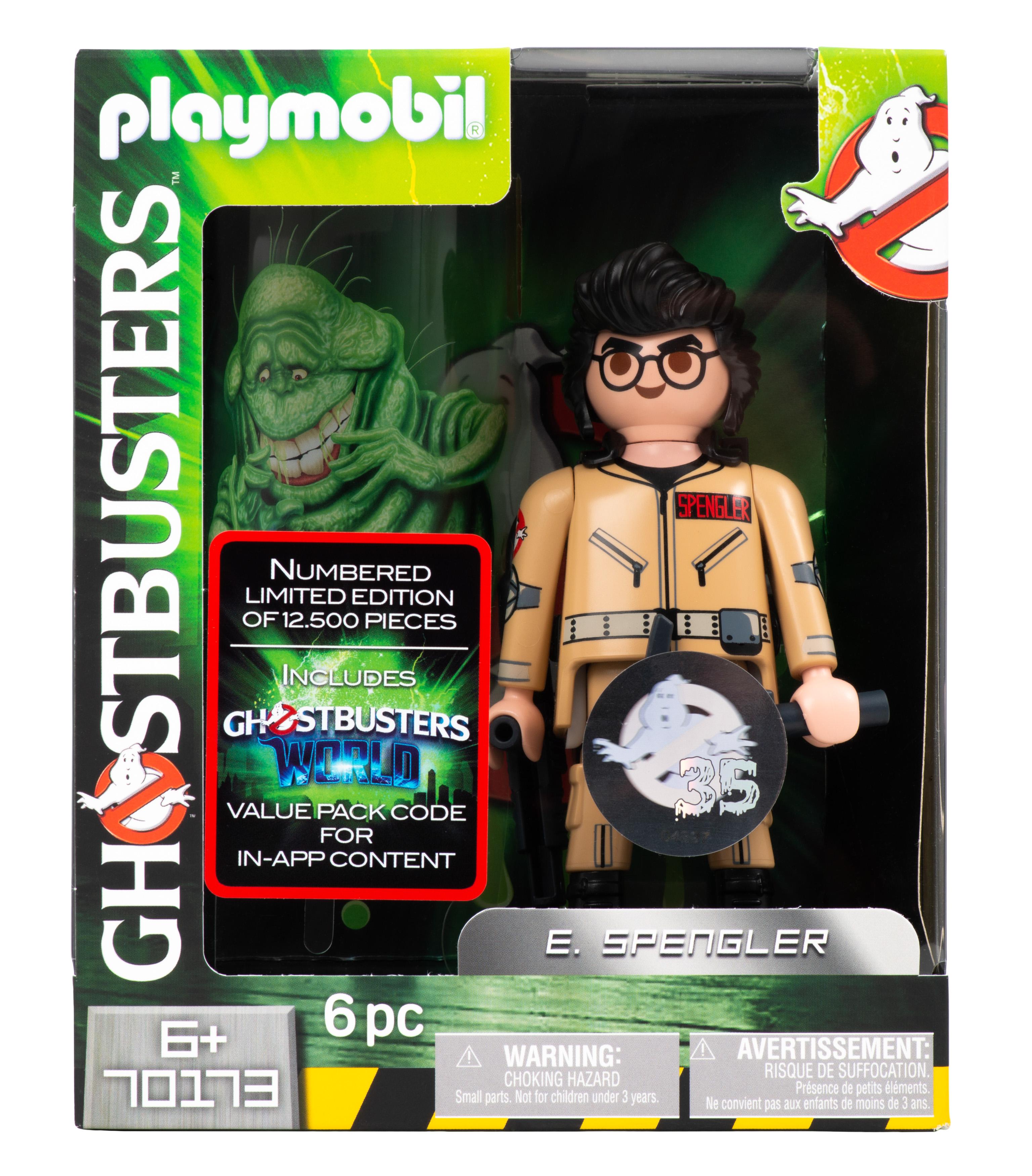 Playmobil Figur - Ghostbusters Egon Spengler