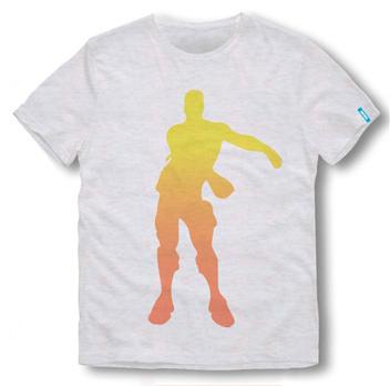 Fortnite T-Shirt Kids Floss weiß Größe 152