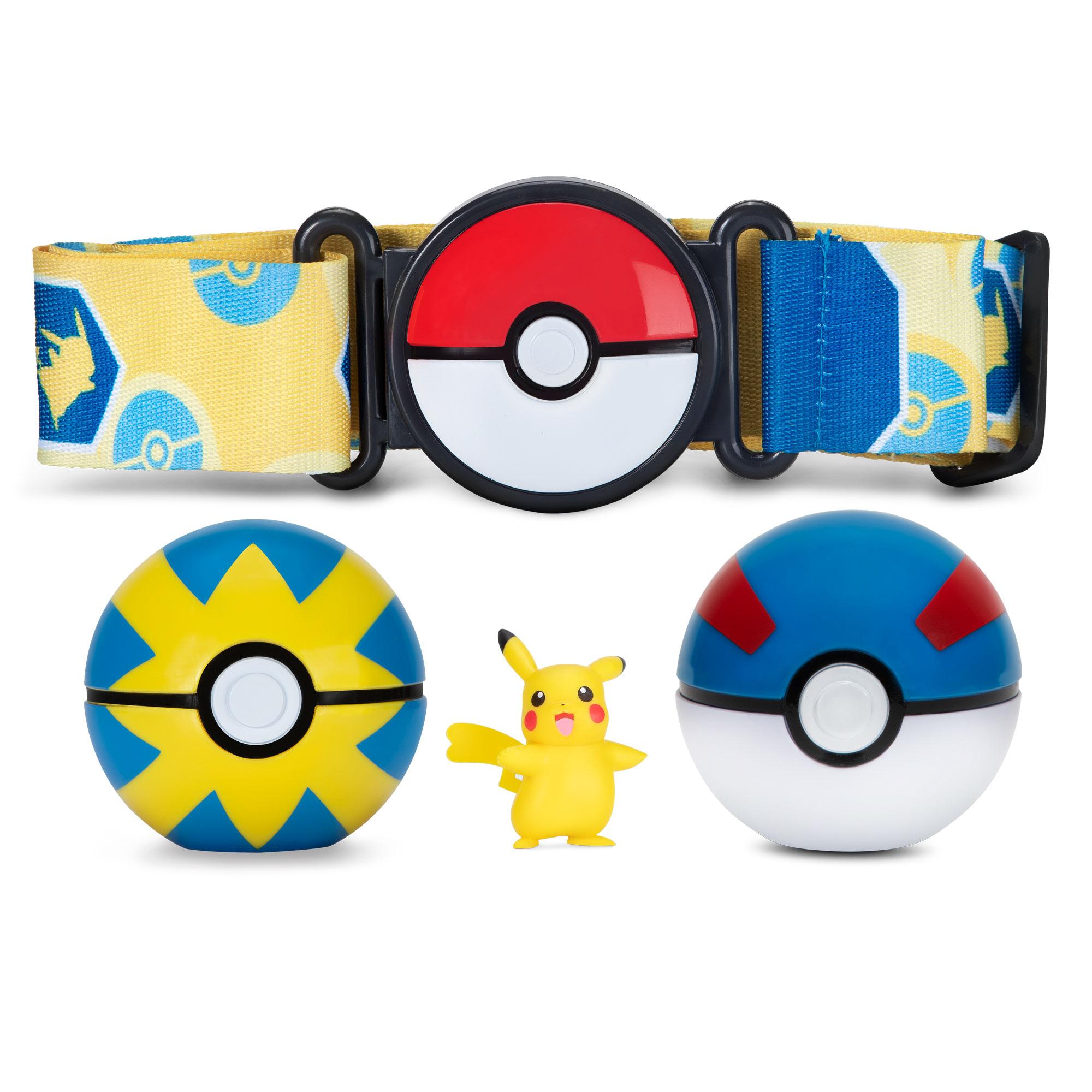 Pokémon - Clip´n Go Gürtelset - weibliches Pikachu