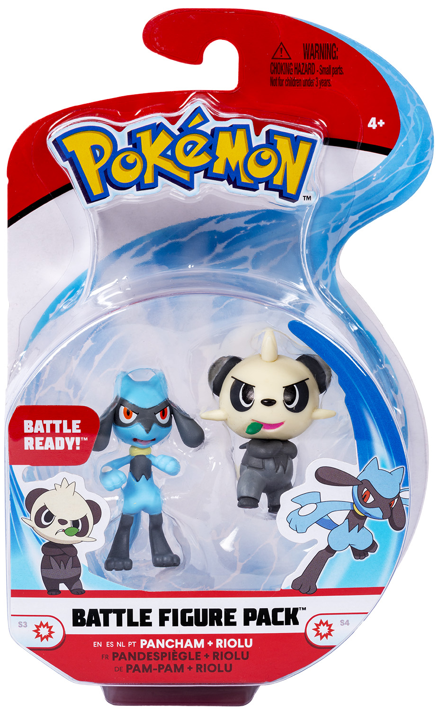 Pokémon - Battle Figure Pack - Pam-Pam & Riolu