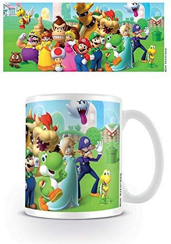 Tasse - Super Mario - Mushroom Kingdom