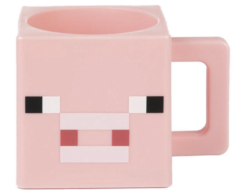 Kunststofftasse - Minecraft - Pig Face