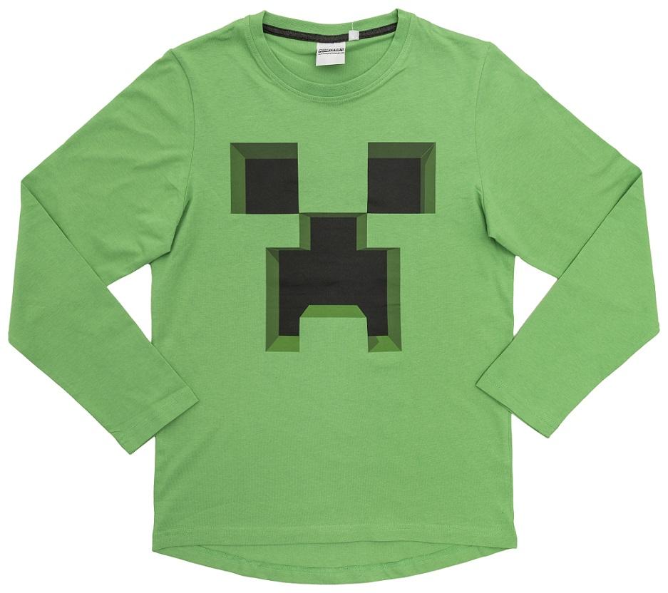 Minecraft Sweatshirt Ever Green Größe 140