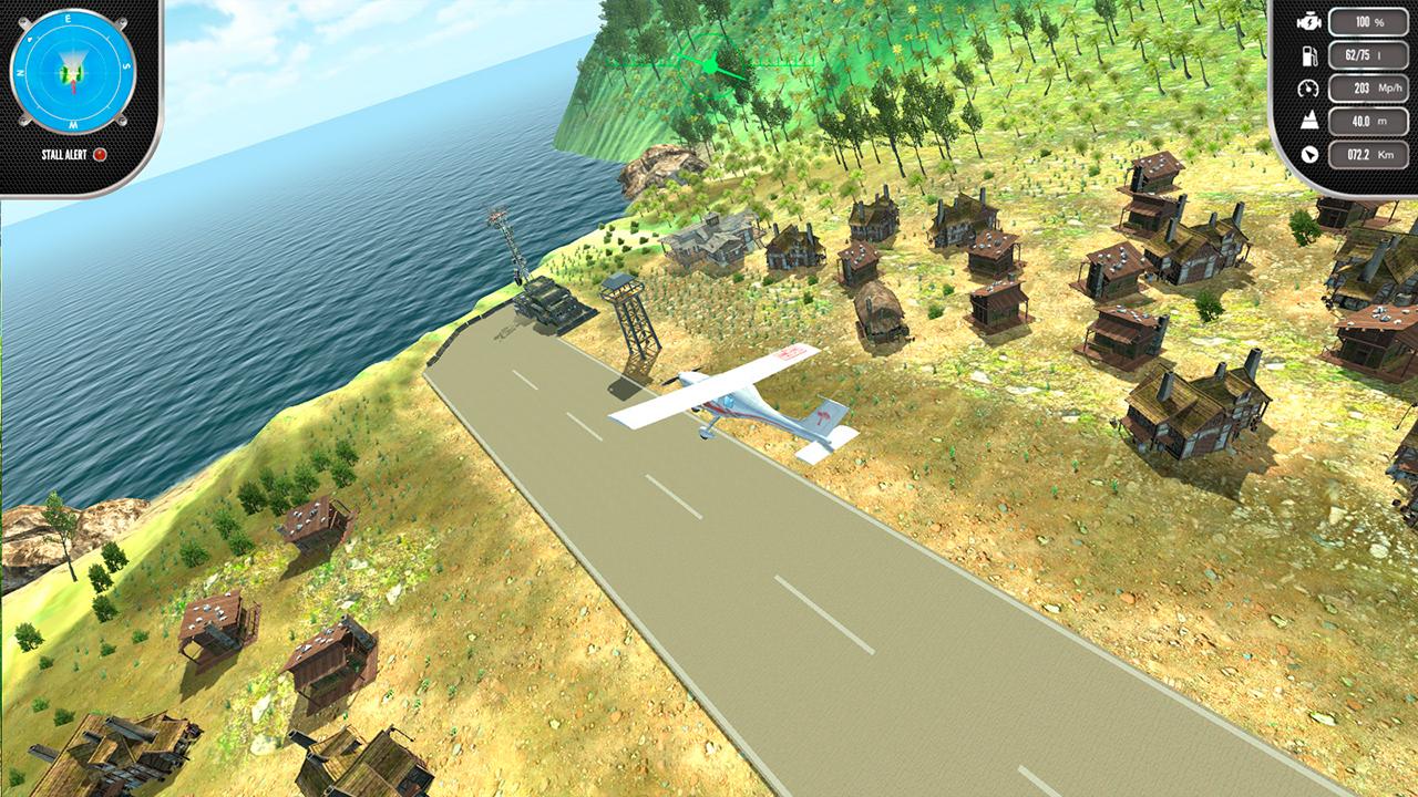 Island Flight Simulator (Code in the Box)