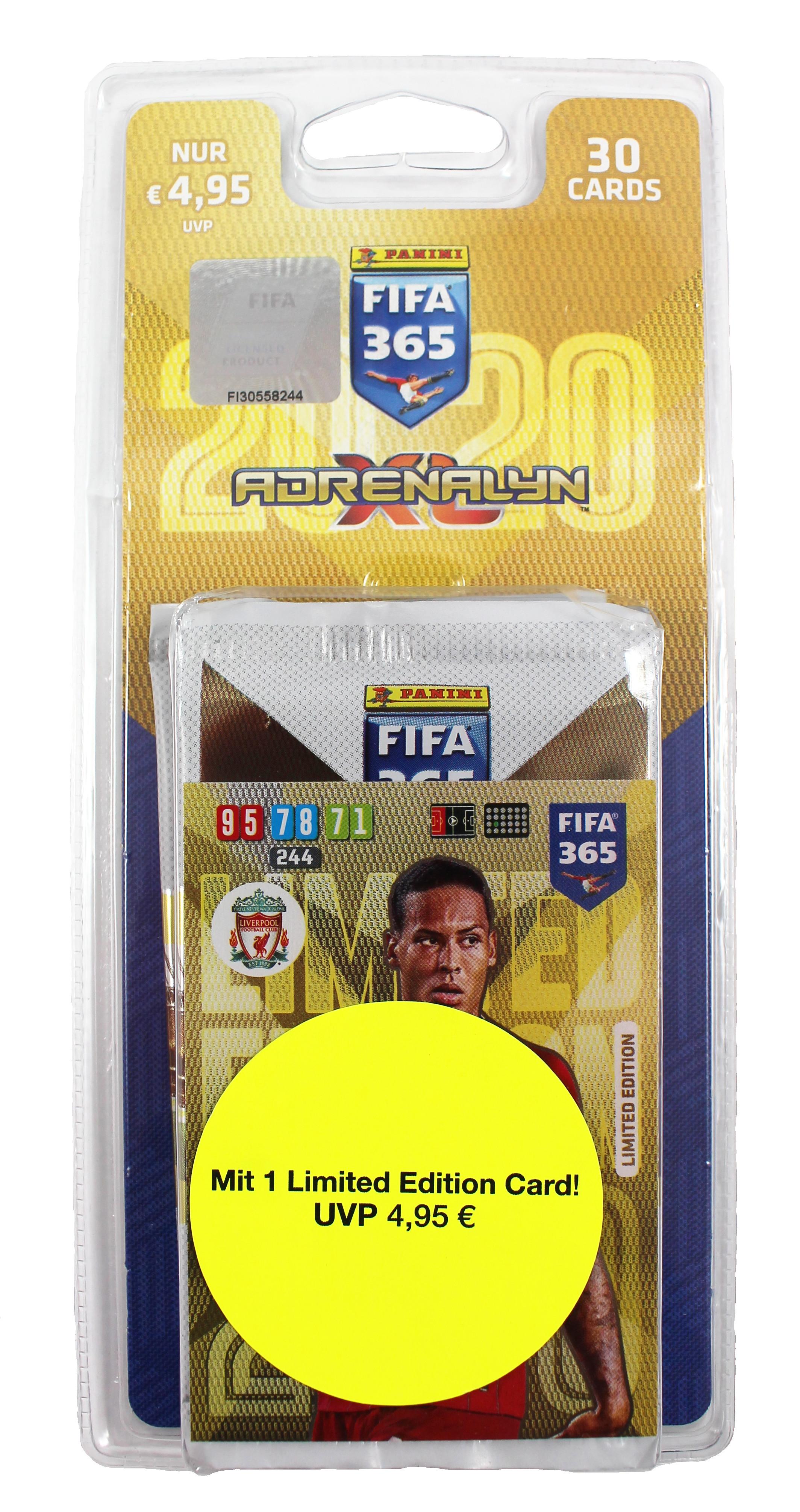 Panini FIFA 365 Adrenalyn XL 2020 Kollektion – Blister