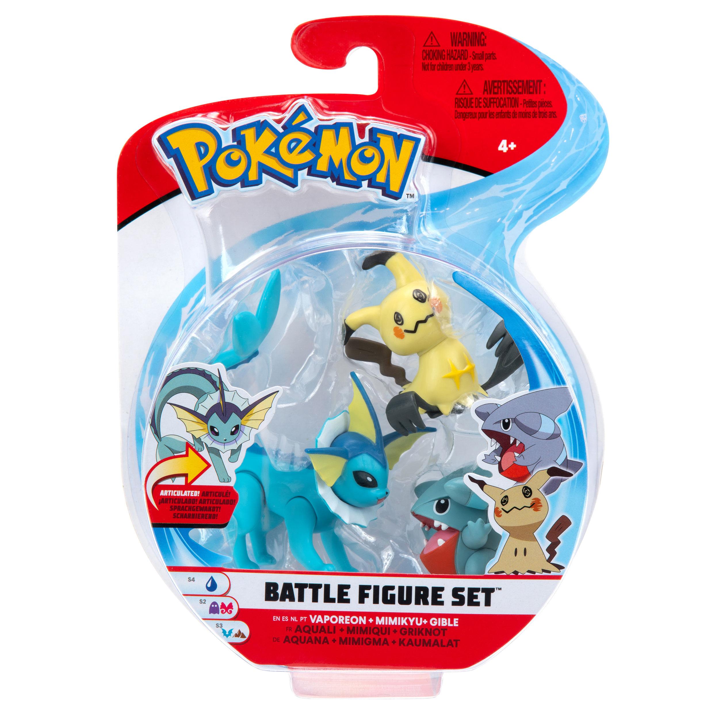 Pokémon - Battle Figure Set - Kaumalat, Mimigma & Aquana