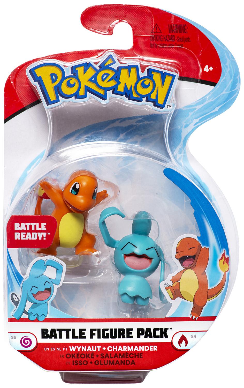 Pokémon - Battle Figure Pack - Glumanda & Isso
