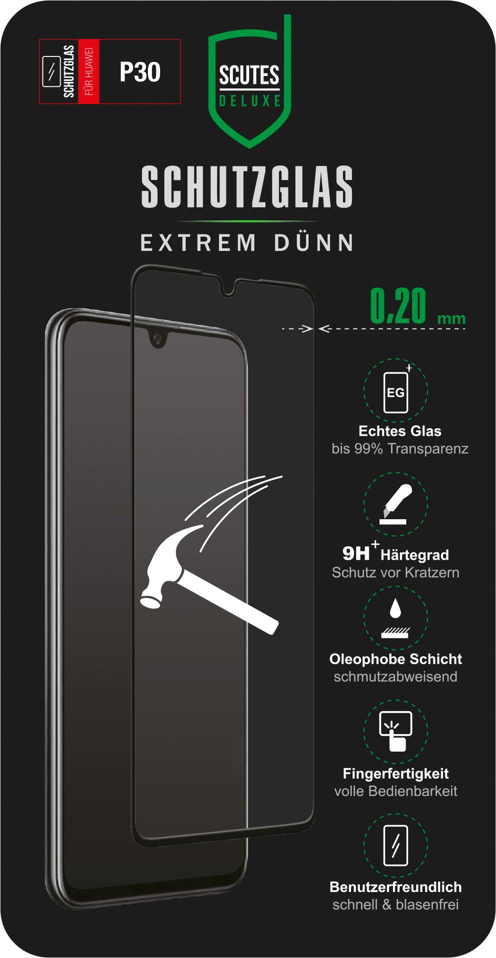 Schutzglas (Huawei P30)