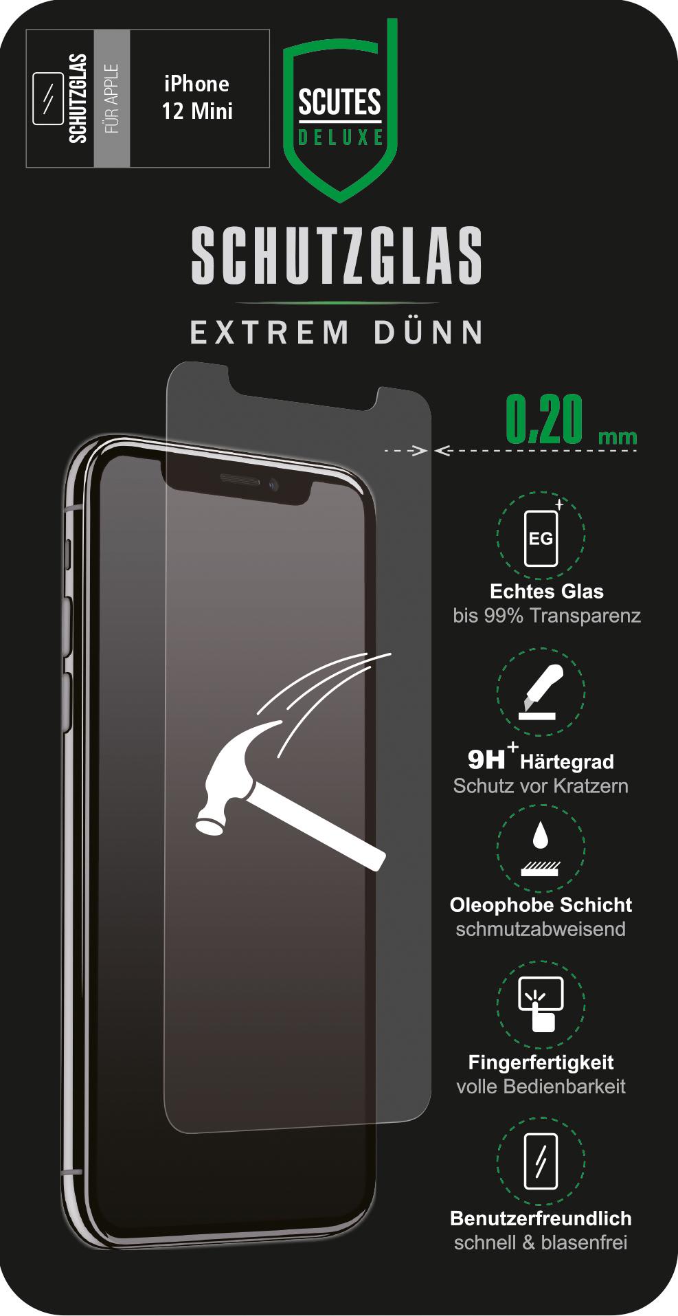 Schutzglas (iPhone 12 Mini)